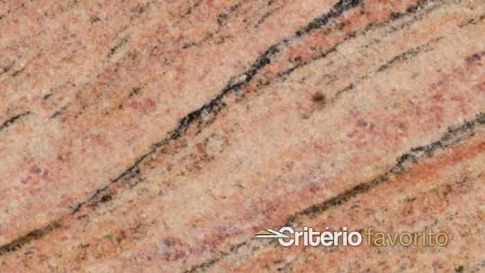Rosa Salmão Granite