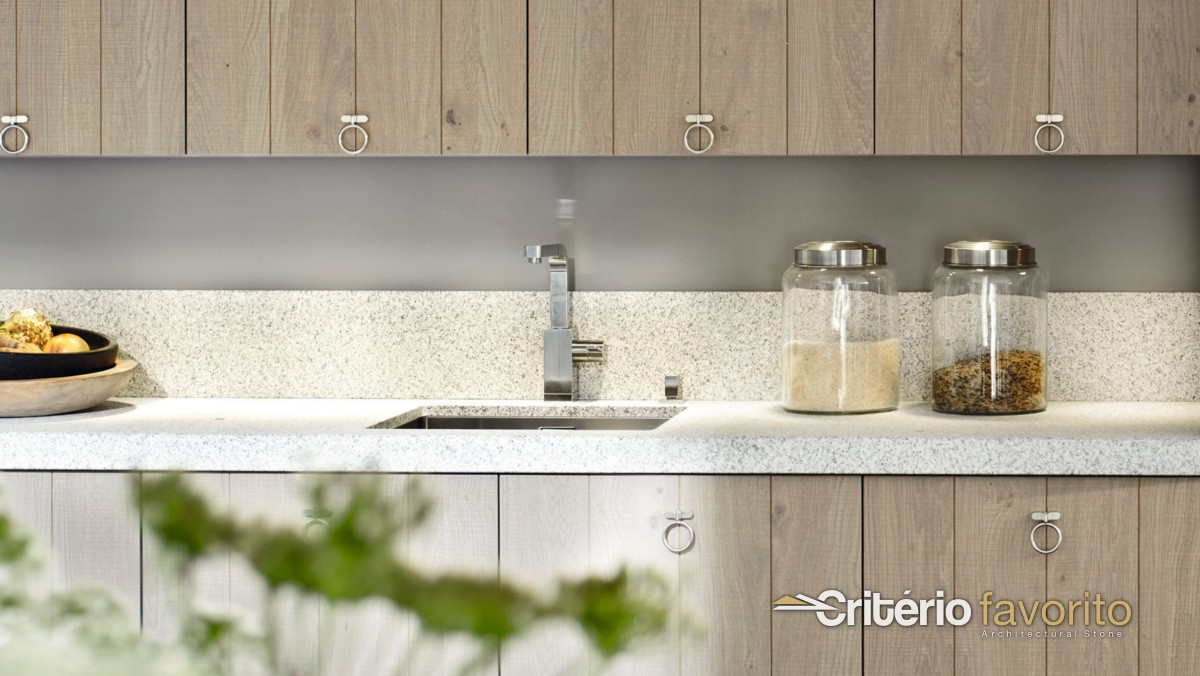 Silestone blanco norte crit rio favorito for Granito blanco norte